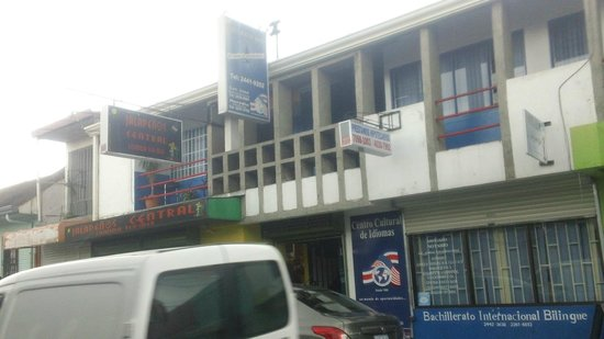 Jalapenos Central: long shot of building