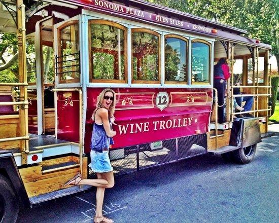 BEST WESTERN Sonoma Valley Inn & Krug Event Center: Trolley wine tour