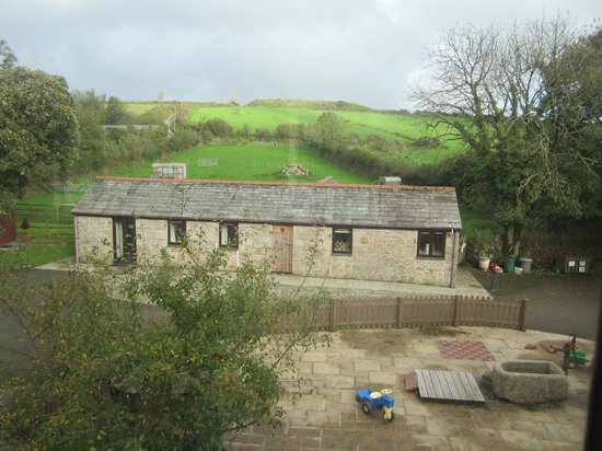 Chark Farm : View from our cottage