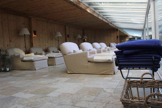Meisters Hotel Irma: sala relax tra piscine e saune