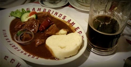 Gambrinus am Eck