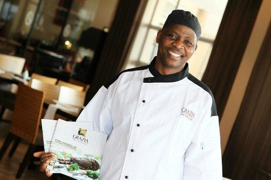 Grazia Fine Food & Wine: Eric Head Chef