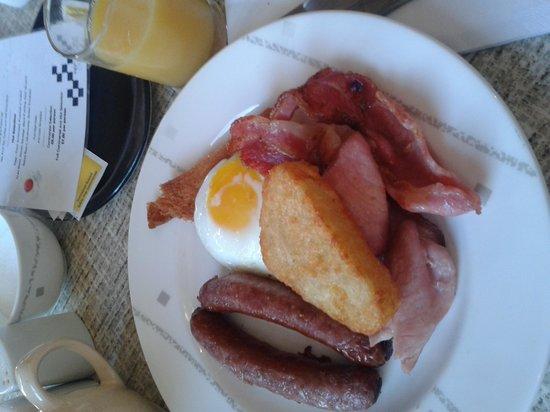 Best Western Queens Hotel: Breakfast in the morning A+