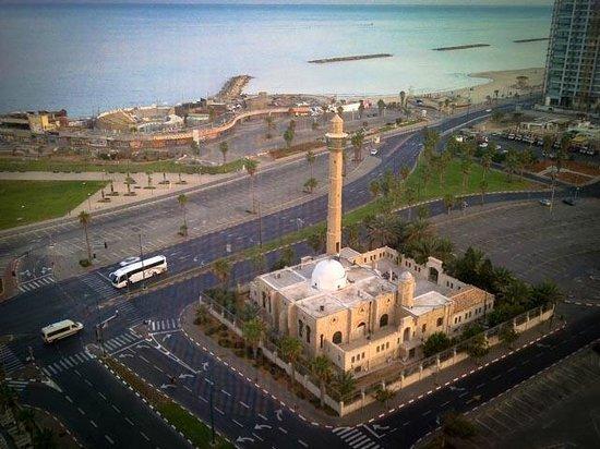 InterContinental David Tel Aviv: Views from the room, promenade