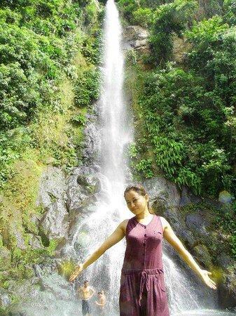 Kasabangan Falls: falls