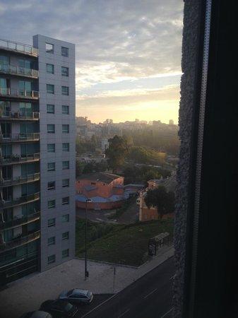 Novotel Lisboa: vistas desde la habitacion del septimo piso