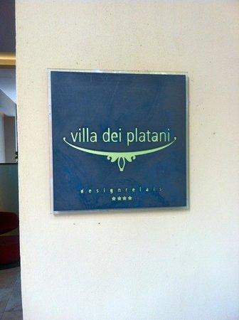 Villa dei Platani Boutique Hotel & Spa: Hotel