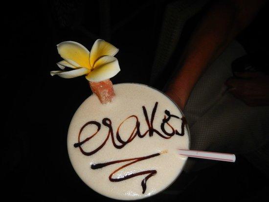 Erakor Island Resort & Spa: Erakor - Toblerone Cocktail