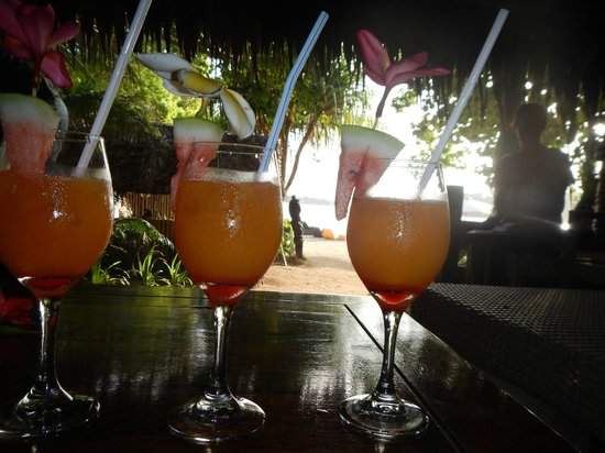 Erakor Island Resort & Spa: Welkam drink!