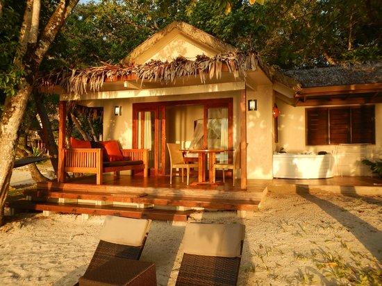 Erakor Island Resort & Spa: Superior spa villa front