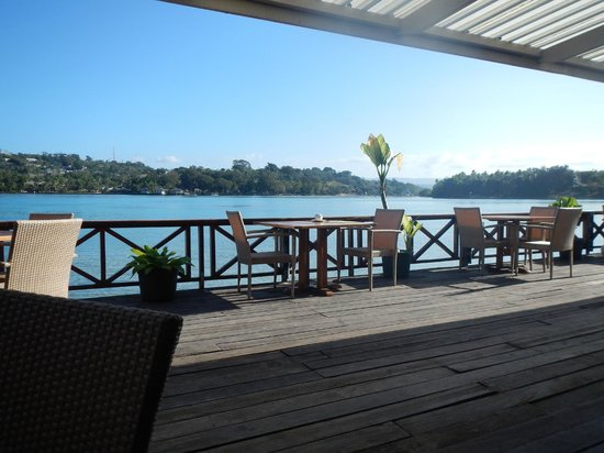 Erakor Island Resort & Spa: View every morning at breaky
