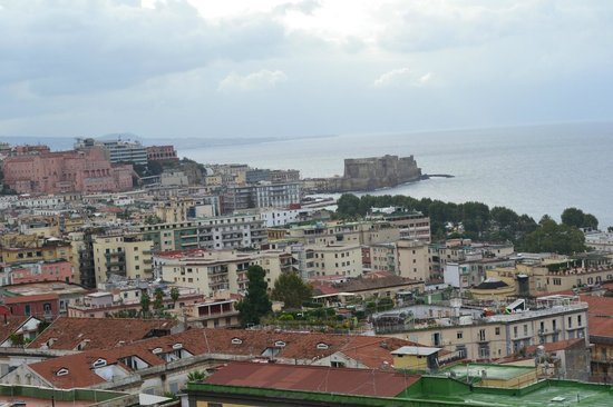 Britannique Hotel : Naples city from the room