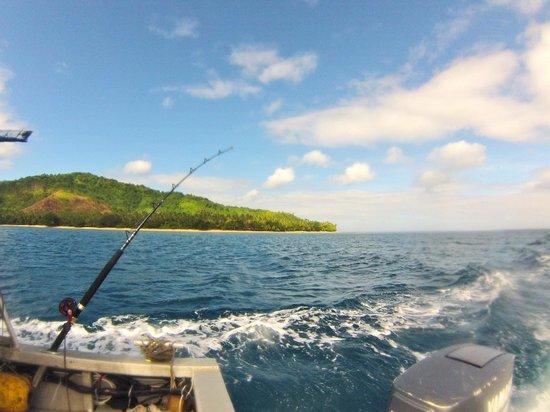 Lawaki Beach House: Fishing