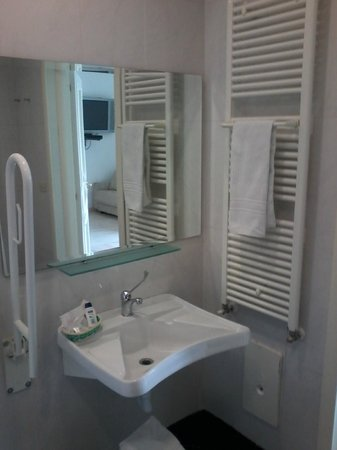 B&B Palazzo Ruffo di Bagnara: bagno