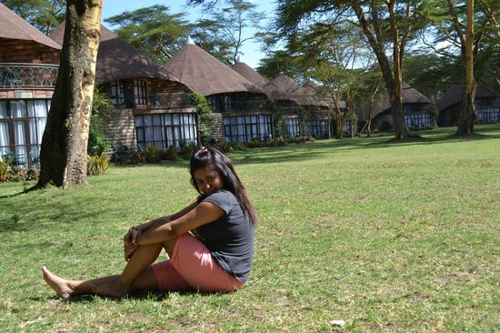me near our cottage - Picture of Lake Naivasha Sopa Resort, Naivasha