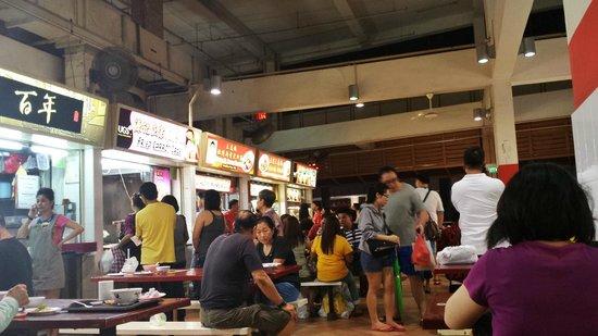 Ibis Singapore on Bencoolen : hawker nearby