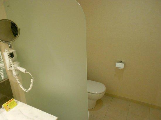 Hotel Eurostars Zaragoza : Separación para el WC.