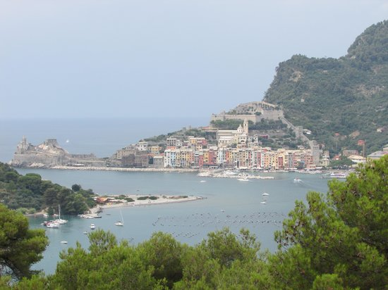 Isola Palmaria: Looking back to Portovenere