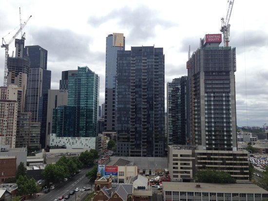 Melbourne Short Stay Apartments MP Deluxe: View from the 12th floor