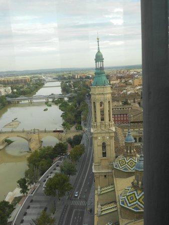 Ascensor del Pilar : vistas estupendas