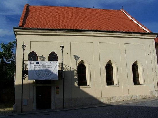 South Moravian Region, สาธารณรัฐเช็ก: Synagogue in Boskovice