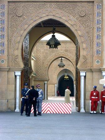 Entrance of the Royal Palace of Rabat  (2006)