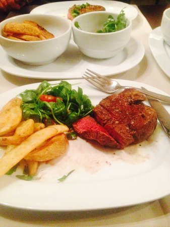 Entra...: The sirloin steak.... Beautiful!