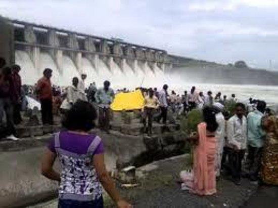 Amravati, India: dam