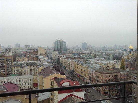 CityHotel : Вид с балкона 13 этажа