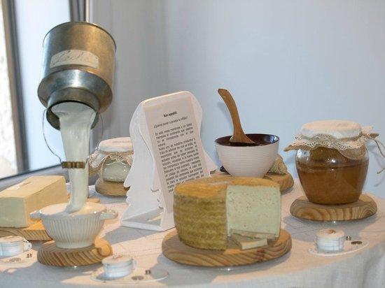 Museo de los Aromas: mesita de la leche