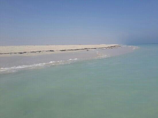 Anantara Sir Bani Yas Island Al Yamm Villa Resort: clean beach