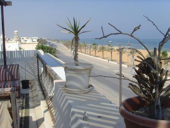 Lana Villa: terrace view