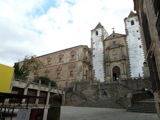 Old Town of Cáceres: Iglesia de San Francisco Javier