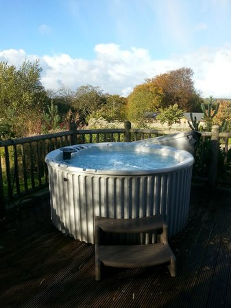 Ribblesdale Park: Hot Tub !!