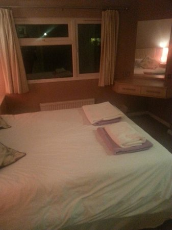 Ribblesdale Park: Bedroom on arrival