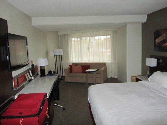 Delta Hotels by Marriott Quebec : Standardzimmer Delta Quebec