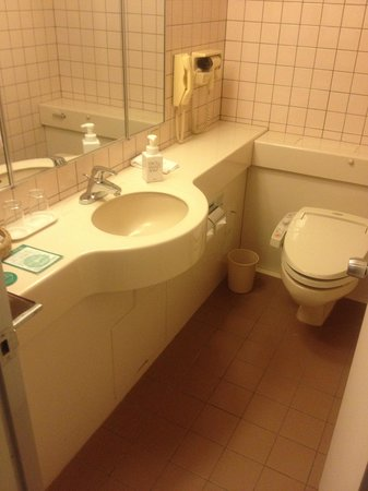 Kanazawa Tokyu Hotel : バスルーム