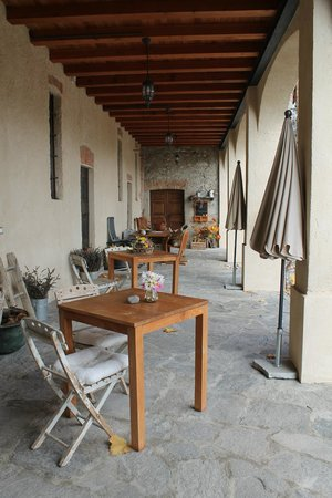 Cascina Rodiani - Green Hospitality: Ground floor terrace