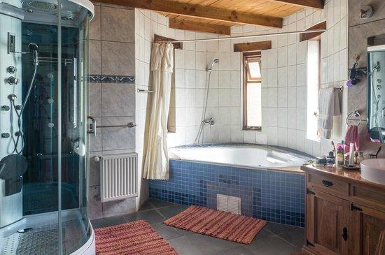 Atacama Adventure Wellness & Ecolodge: Banheiro enorme