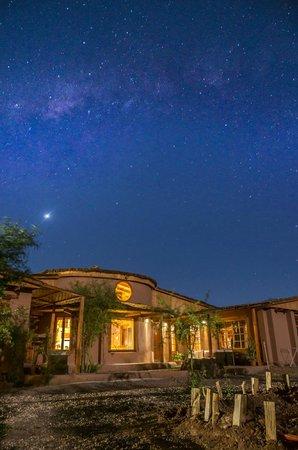 Atacama Adventure Wellness & Ecolodge: Hotel com Venus ao fundo