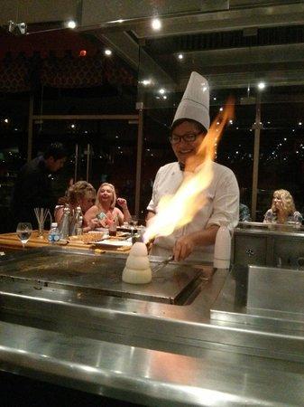Iberostar Grand Hotel Paraiso: cooking at Haiku