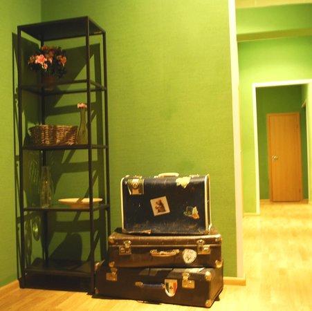 Koffer Residences Hostel: холл на 3 этаже