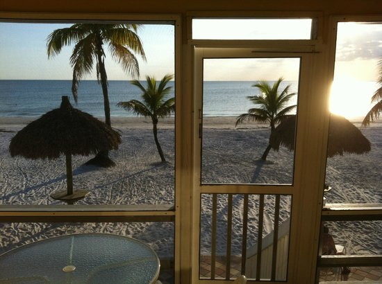 Tiki On The Beach: Room with a view.