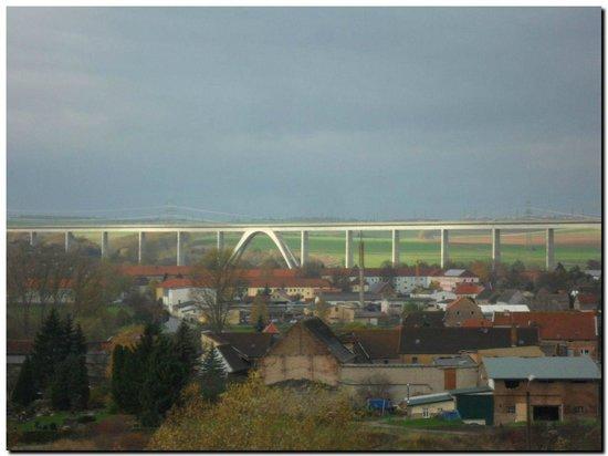 Karsdorf, Allemagne : Blick aus dem Fenster
