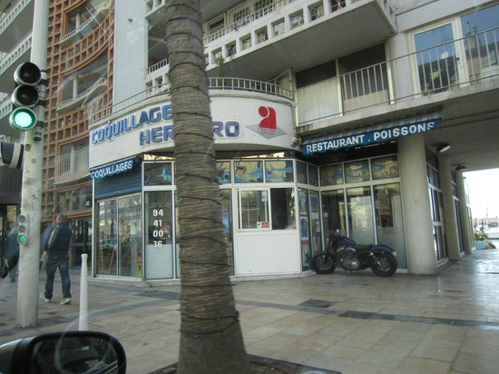 Stade Mayol : go dinner or lunch just cross avenue straight on harbor