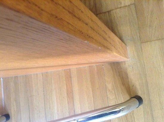Gut Pössnitzberg: Der Dreck zwischen Stuhl und Schreibtisch, der bis zum 3. Tag zu sehen war