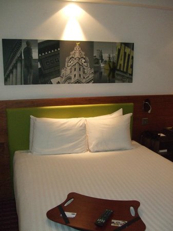 Hampton by Hilton Liverpool City Centre: Ready and waiting