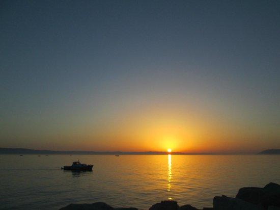 Hotel Villa Marija : Sonnenuntergang