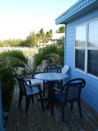 Hideaways at Palm Bay: My deck!!!