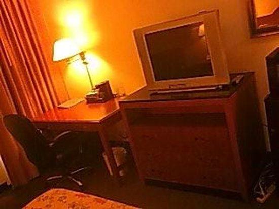 Ramada Orlando Near Convention Center : Desk & chair